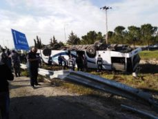 وفاة و38 اصابة بحادث تدهور حافلة بعمان