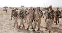 القائد الأعلى يتابع التمرين العسكري التعبوي (القوة الضاربة)