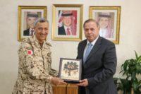 """""""عمان العربية"""" والملحقية العسكرية البحرينية تبحثان التعاون المشترك"""