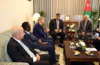 مندوبا عن الملك رئيس الديوان الملكي يلتقي رئيس قرى الأطفال العالمية