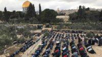 شرطة الاحتلال الإسرائيلي تفرغ جزءا من محتويات مصلى باب الرحمة في المسجد الأقصى