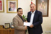 """""""عمان العربية"""" تحدث بنيتها التحتية لشبكة المعلومات والحماية وتكرم فريق العمل"""