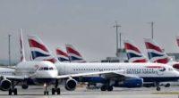 إضراب الطيارين يشل رحلات الخطوط البريطانية