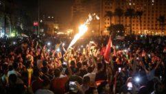اعتقالات خلال تظاهرات معارضة للسيسي في مصر