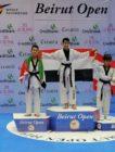 ٤ ميداليات للأردن في بطولة بيروت المفتوحة للتايكواندو