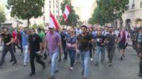 لبنان: تجدد التحركات الشعبية الاحتجاجية في المناطق اللبنانية