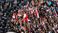 اقفال الطرق المؤدية الى مقر الرئاسة اللبنانية بعد دعوات لمسيرات شعبية باتجاهه