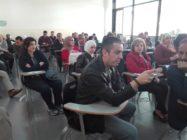 """محاضرة حول التعليم عن بعد في """"عمان العربية"""""""