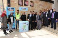 """توزيع معقمات الايدى في """"عمان العربية"""""""