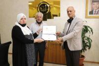 """عمان العربية"""" تجسد الوفاء لإحدى طالباتها المتميزات"""