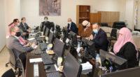 اجتماع المجلس الاستشاري لكلية الشريعة في عمان العربية