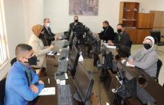 رئيس جامعة عمان العربية يلتقي وفد من جمعية البيئة الاردنية